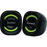 Gear Head SP1600BLK 2.0 Speaker System - 5 W RMS - Desktop