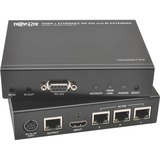 Tripp Lite HDBaseT HDMI Over Cat5e Cat6 Cat6a Extender Kit w/ Ethernet, Serial and IR Control 150m 500ft