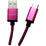 Xavier USB Type-C Pink - 6 Feet