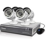 Swann DVR8-4600 - 8 Channel 1080p Digital Video Recorder & 4 x PRO-A855 Cameras