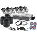Swann DVR8-4600 - 8 Channel 1080p Digital Video Recorder & 8 x PRO-A855 Cameras