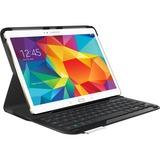 Logitech Type - S Keyboard/Cover Case (Folio) for Tablet - Black