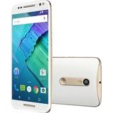 Motorola Moto X Pure Edition Smartphone - 16 GB Built-in Memory - Wireless LAN - 4G - Bar - White