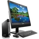 """Lenovo ThinkCentre M700z 10EY000BUS All-in-One Computer - Intel Core i3 (6th Gen) i3-6100T 3.20 GHz - 8 GB DDR4 SDRAM - 500 GB HDD - 20"""" - Windows 10 downgradable to Windows 7 ...(more)"""