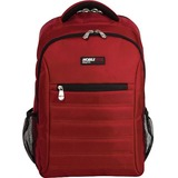 """Mobile Edge Carrying Case (Backpack) for 17"""" MacBook, Notebook, Tablet - Crimson Red"""