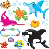 Trend Sea Buddies Bulletin Board Set