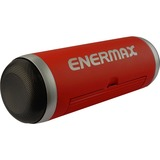 Enermax EAS01-R Speaker System - 6 W RMS - Portable - Battery Rechargeable - Wireless Speaker(s) - Red