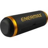 Enermax EAS01-BK Speaker System - 6 W RMS - Portable - Battery Rechargeable - Wireless Speaker(s) - Black