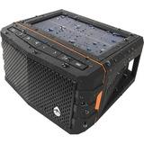 ECOXGEAR Sol Jam Speaker System - Solar Panel - Portable - Battery Rechargeable - Wireless Speaker(s) - Black