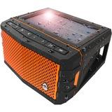 ECOXGEAR Sol Jam Speaker System - 20 W RMS - Portable - Battery Rechargeable - Wireless Speaker(s) - Orange