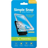 ReVamp Simple Snap Screen Protector (iPhone 5/5S) (Tempered Glass) Transparent