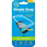 ReVamp Simple Snap Screen Protector (iPhone 5C) (Tempered Glass) Transparent