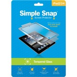 ReVamp Simple Snap Screen Protector (iPad 2/3/4) (Tempered Glass) Transparent
