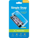 ReVamp Simple Snap Screen Protector (iPhone 6/6S) (Tempered Glass) Transparent