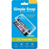 ReVamp Simple Snap Screen Protector (iPhone 6/6S Plus) (Tempered Glass) Transparent