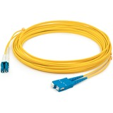 AddOn 3m ALC (Male) to SC (Male) Yellow OS2 Duplex Fiber OFNR (Riser-Rated) Patch Cable