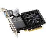 EVGA GeForce GT 710 Graphic Card - 954 MHz Core - 1 GB DDR3 SDRAM - PCI Express 2.0 x16 - Low-profile - Single Slot Space Required