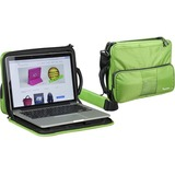 "Bump Armor Carrying Case for 11"", MacBook Air, Chromebook, Notebook - Black"