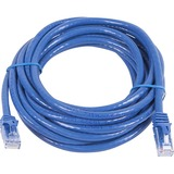 Monoprice FLEXboot Series Cat5e 24AWG UTP Ethernet Network Patch Cable, 14ft Blue