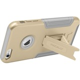 Macally Hardshell Case with Stand for iPhone 6/6s (Gold)