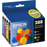 Epson DURABrite Ultra 288 Original Ink Cartridge - Pigment Black, Pigment Cyan, Pigment Magenta, Pigment Yellow