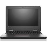 "Lenovo ThinkPad 11e 20GA000KUS 11.6"" Touchscreen Notebook - Intel Celeron N3150 Quad-core (4 Core) 1.60 GHz - 4 GB DDR3L SDRAM - 128 GB SSD - Windows 10 Pro 64-bit (English) - ...(more)"