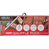 Kelsyus Premium Shufflepuck 4-in-1 Game