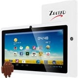 "Zeepad 7DRK-Q 4 GB Tablet - 7"" 5:3 Multi-touch Screen - 800 x 480 - Allwinner Cortex A7 A33 Quad-core (4 Core) 1.80 GHz - 512 MB DDR3 SDRAM - Android 4.4 KitKat - White"