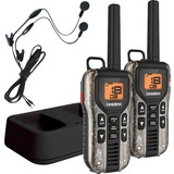 Uniden GMR4088-2CKHS Camo Two Way Radios with Charger and Headsets