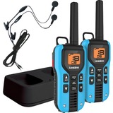 Uniden GMR4055-2CKHS Two Way Radio with Charger and Headsets