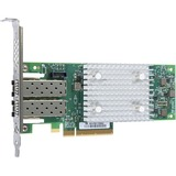 QLogic QLE2742 Dual-port Gen 6 Fibre Channel, Low Profile PCIe Card