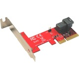 Addonics ADSF8643PX4 U.2 to PCI Express Adapter