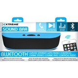 Xtreme Cables Sound Bar Speaker - Portable - Battery Rechargeable - Wireless Speaker(s) - Blue
