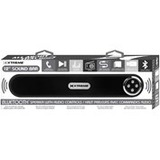 Xtreme Cables Sound Bar Speaker - Portable - Battery Rechargeable - Wireless Speaker(s) - Black
