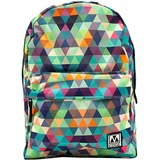 M-Edge Graffiti Carrying Case (Backpack) for Tablet, Smartphone, Notebook - Triangles