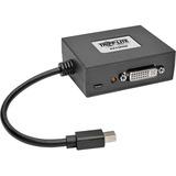 Tripp Lite 2-Port Mini DisplayPort to DVI Multi Stream Transport Hub 1080p