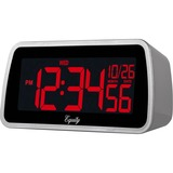 Equity 30451 Color-Changing LCD Alarm Clock