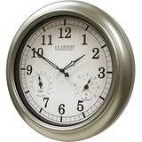 La Crosse Technology WT-3181PL-Q Indoor/Outdoor Wall Clock