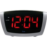 Equity 75906 Jumbo Red LED Alarm Clock