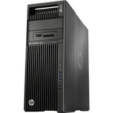HP Z640 Convertible Mini-tower Workstation - 2 x Processors Supported - 1 x Intel Xeon E5-2643 v4 Hexa-core (6 Core) 3.40 GHz - Brushed Aluminum, Black