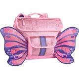 Bixbee Sparkalicious Kids Glitter Pink Butterflyer Backpack - Small