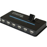 Plugable USB 2.0 10-Port Hub with 20W Power Adapter