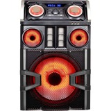 QFX Bass Thumper PA Series SBX-8815100BTL Speaker System - Wireless Speaker(s) - Black