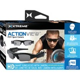 Xtreme Cables ACTIONVIEW Digital Camcorder - HD - Black