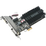 Zotac GeForce GT 710 Graphic Card - 954 MHz Core - 1 GB DDR3 SDRAM - PCI Express x1 - Half-length/Low-profile - Single Slot Space Required
