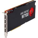 AMD FirePro W7100 Graphic Card - 8 GB GDDR5 - PCI Express 3.0 x16 - Full-length/Full-height - Single Slot Space Required