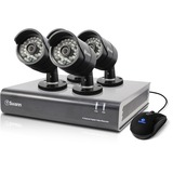 Swann DVR4-4400 - 4 Channel 720p Digital Video Recorder & 4 x PRO-A850 Cameras