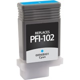 West Point Ink Cartridge - Alternative for Canon (PFI-102C) - Cyan