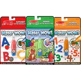 Melissa & Doug Water Wow Bundle Animals, Alphabet and Numbers Paint