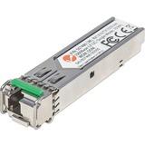 Intellinet Network Solutions Gigabit Fiber WDM (RX1310/TX1550) Bi-Directional SFP Module, LC, Single-Mode, 6.2 miles (10 km)